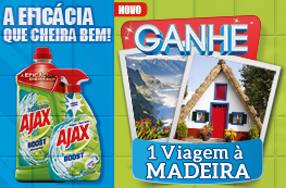 Ganhe uma Viagem à Madeira com Ajax Boost