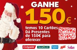 Ganhe 10 Cartões Sonae de 150€