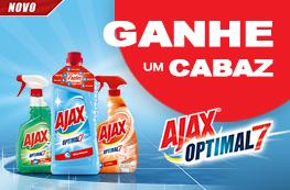Ganhe um CABAZ de produtos Ajax Optimal 7