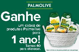 Ganhe 1 cabaz de produtos Palmolive para 1 ano