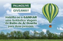 Giveaway Palmolive - Ganhe uma viagem de Balão para 2 pessoas