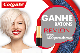 Colgate Max White - Ganhe Batons Revlon