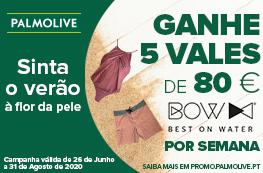 Sinta o verão à flor da pele - Ganhe vales de 80€ da BOW Best on Water