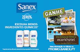 SANEX ZERO%– GANHE UMA SEMANA DE FÉRIAS NO ECORKHOTEL