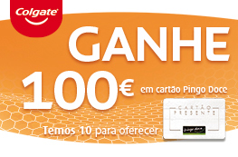 Ganhe 100 € em cartão Presente Pingo Doce