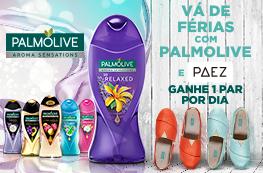 Vá de férias com Palmolive e Paez - 1 par por dia