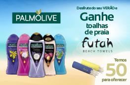 Palmolive - Ganhe Toalhas de Praia Futah