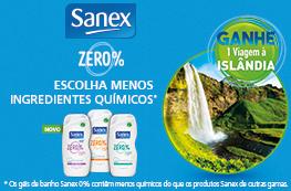 Ganhe uma viagem à Islândia com Sanex ZERO%