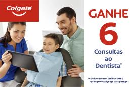 Colgate - Ganhe 6 Consultas ao Dentista