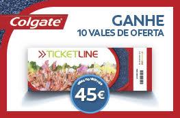 Ganhe 10 Vales Ticketline no valor de 45€
