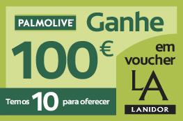 Ganhe 100€ em voucher Lanidor