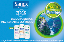 Ganhe uma viagem à Noruega com Sanex ZERO%