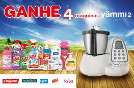 Ganhe 4 Máquinas Yammi 2