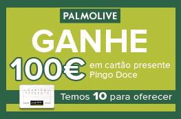 Ganhe 100€ em Cartão Presente Pingo Doce