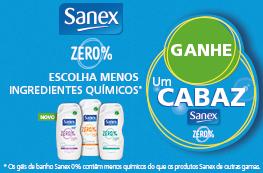 GANHE UM CABAZ DE PRODUTOS SANEX ZERO%
